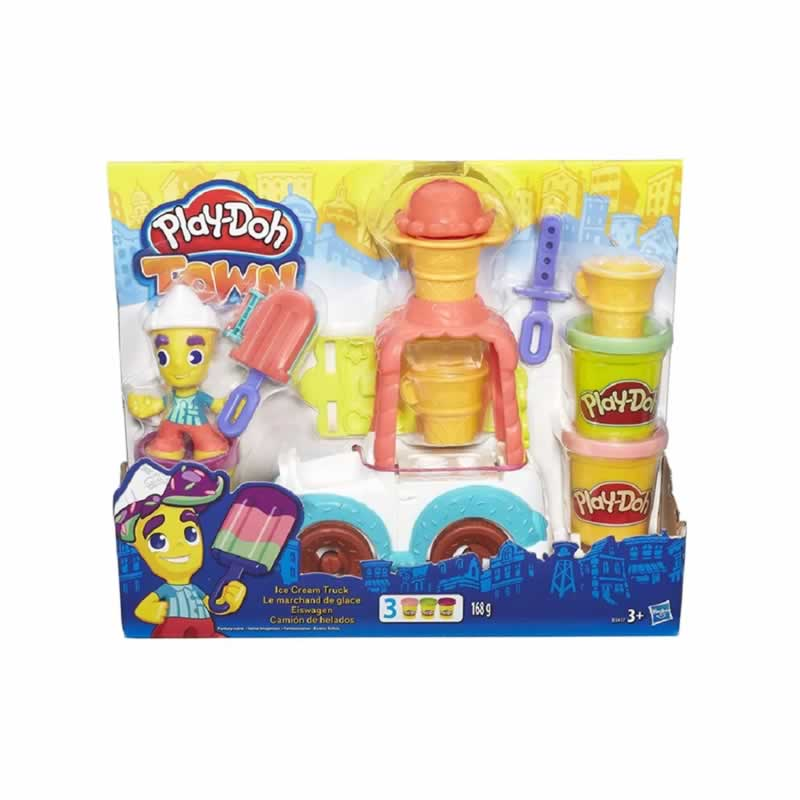 Massinha Play-Doh Town Carro do Sorvete